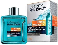 L'Oreal Paris Men Hydra Energetic After Shave Splash (100mL) Ice Impact