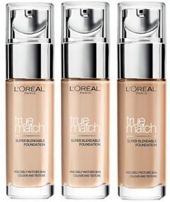 L'Oreal Paris True Match Foundation (30mL)