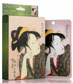 Mitomo Camellia Flower & Matcha Mask Box (10pcs)