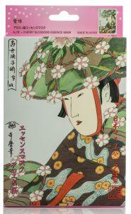 Mitomo Aloe & Cherry Blossom Mask Box (10pcs)