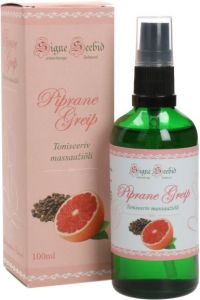 "Signe Seebid Toning Massage Oil ""SpicyGrapefruit"" (100mL)"