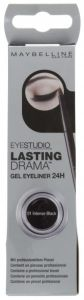 Maybelline Eyestudio Lasting Drama Gel Liner 24h Intense Black