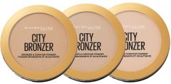 Maybelline New York City Bronze Bronzer And Contour Powder (8g)
