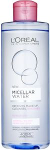 L'Oreal Paris Micellar Water Normal to Dry Sensitive Skin (400mL)