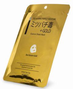 Mitomo Bee Venom & Gold Essence Mask (25g)