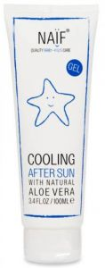 Naïf Cooling After Sun Gel with Aloe Vera (100mL)