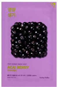 Holika Holika Kasvonaamio Pure Essence Mask Sheet - Acai Berry