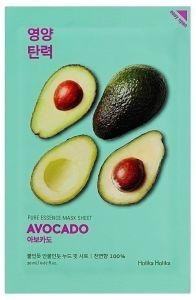 Holika Holika Kasvonaamio Pure Essence Mask Sheet - Avocado