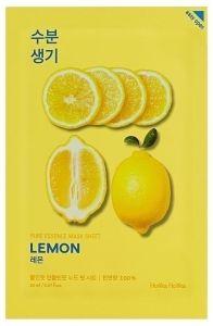Holika Holika Kasvonaamio Pure Essence Mask Sheet - Lemon