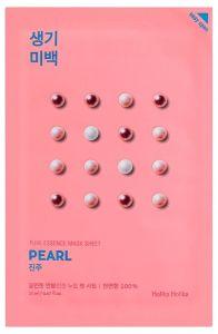Holika Holika Kasvonaamio Pure Essence Mask Sheet - Pearl
