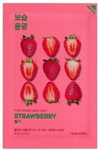 Holika Holika Kasvonaamio Pure Essence Mask Sheet - Strawberry