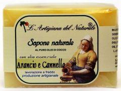 Laboratorio Naturale Orange- Cinnamon Soap (100g)