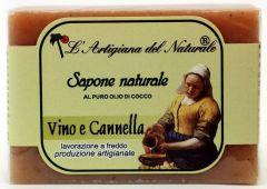 Laboratorio Naturale Wine Cinnamon Soap (100g)