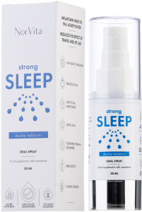 Norvita Melatonin Strong Sleep Oral Spray (30mL)