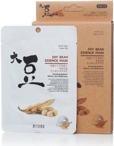 Mitomo Soy Bean Essence Mask Box (4pcs)