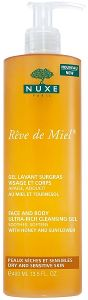 Nuxe Reve de Miel Face And Body Rich Cleansing Gel (400mL)