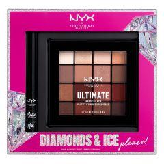 NYX Professional Makeup X-mas Shadow & Liner Kit