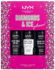 NYX Professional Makeup X-mas Mini Setting Spray Kit
