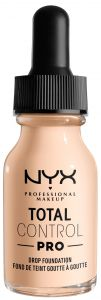 NYX Professional Makeup Total Control Pro Drop Foundation (60g) Light Palle