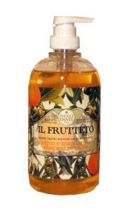 Nesti Dante Il Frutteto Liquid Soap Olive Oil & Tangerine (500mL)