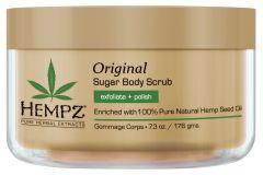 Hempz Original Herbal Sugar Body Scrub (215mL)
