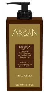 Phytorelax Argan Moisturizing Body Cream for Dry Skin (250mL)
