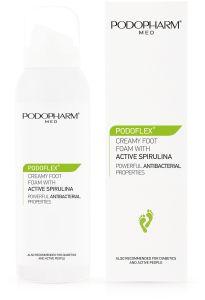 Podopharm Podoflex Creamy Foot Foam with Active Spirulina (125mL)