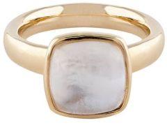 Buckley London White Mop Cushion Ring R483L