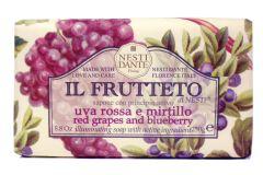 Nesti Dante Soap Il Frutetto Red Grapes & Blueberry (250g)