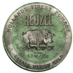 Reuzel Green Medium Hold Grease (35g)
