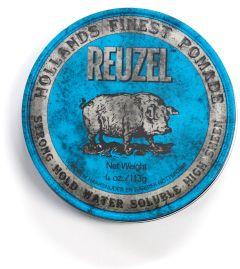Reuzel Blue Strong Hold High Sheen Pomade (113g)