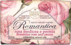 Nesti Dante Soap Romantica Florentine Rose & Peony (250g)