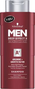 Schwarzkopf Men Shampoo Arginine + Growth Activator (250mL)