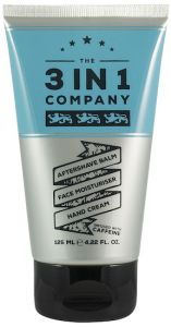 The 3in1 Company Aftershave, Face Moisturiser, Hand Cream (125mL)