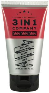 The 3in1 Company Pomade, Paste, Wax (125mL)