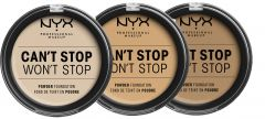 NYX Professional Makeup Can't Stop Won't Stop Powder Foundation (10,7mL)