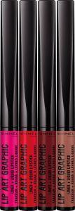 Rimmel London Lip Art Graphic Lip Colour (1,8mL)