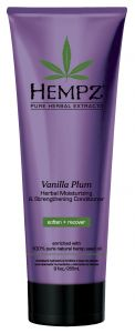 Hempz Vanilla Plum Moisturizing & Strengthening Herbal Conditioner (266mL)