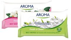 Aroma Fresh& Clean Wet Wipes (15pcs)