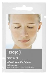 Ziaja Cleansing Face Mask with Grey Clay (7mL)