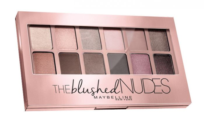 MAYBELLINE The Blushed Nudes Palette in Nude - 12 Shades